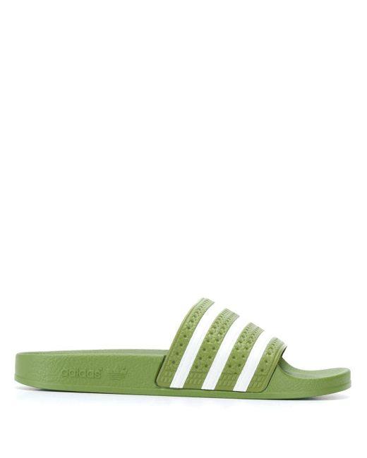 メンズ Adidas Adilette サンダル Green