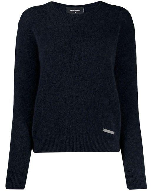 DSquared² タートルネック セーター Blue