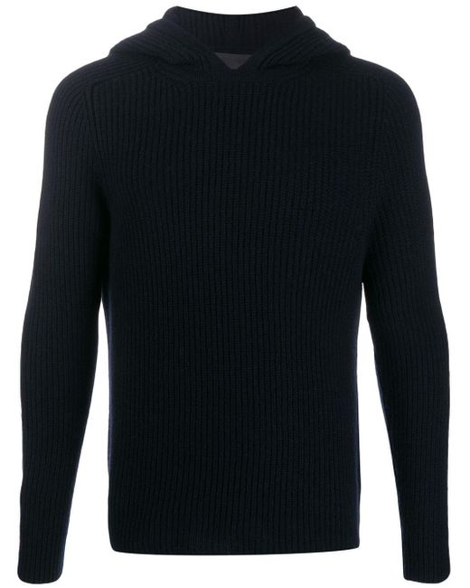 Hooded cashmere jumper Iris Von Arnim pour homme en coloris Blue
