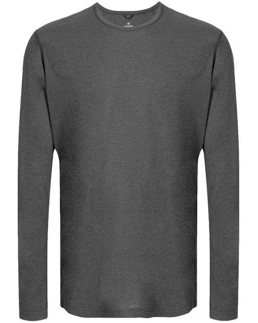 メンズ Reigning Champ Long Sleeve Training Shirt Gray