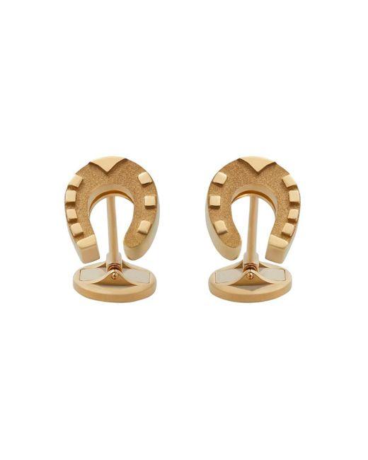 Запонки Good Luck Dolce & Gabbana для него, цвет: Metallic