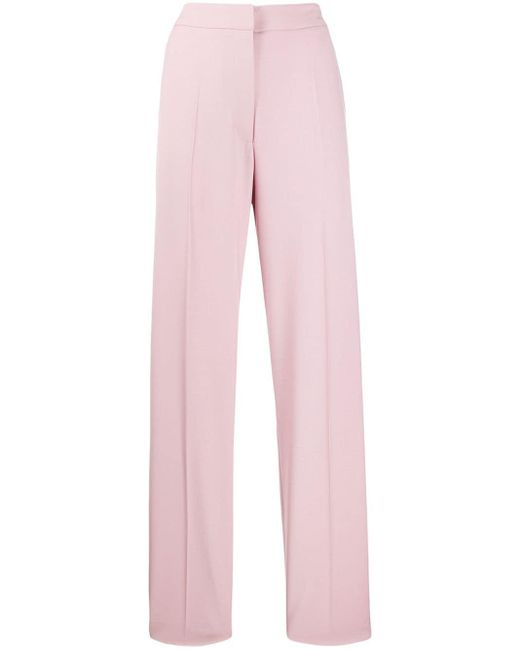 Pantalon de costume Hattie évasé Preen By Thornton Bregazzi en coloris Pink