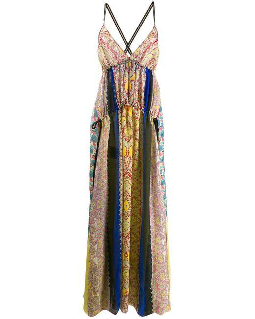Etro パッチワーク ドレス Multicolor