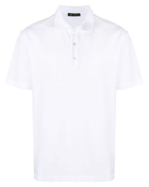 メンズ Versace ポロシャツ White