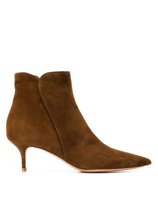 Gianvito Rossi アンクルブーツ Brown