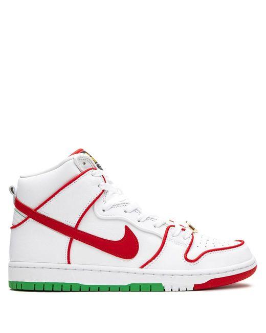 """メンズ Nike Sb Dunk High """"paul Rodriguez"""" スニーカー White"""