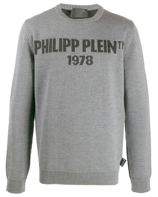 メンズ Philipp Plein Pp1978 セーター Gray