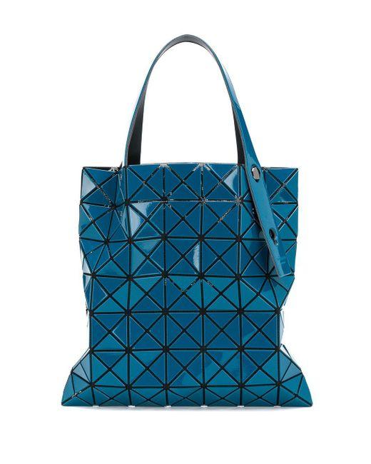 Сумка-тоут Lucent Prism Bao Bao Issey Miyake, цвет: Blue