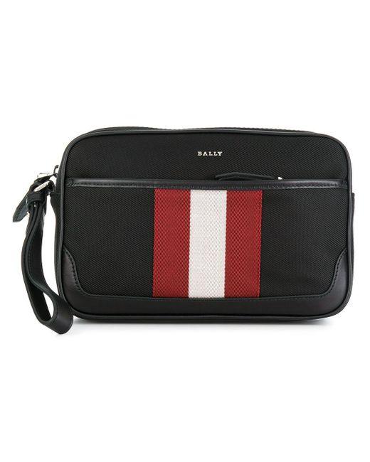Bally Black Caliros Wristlet Bag for men