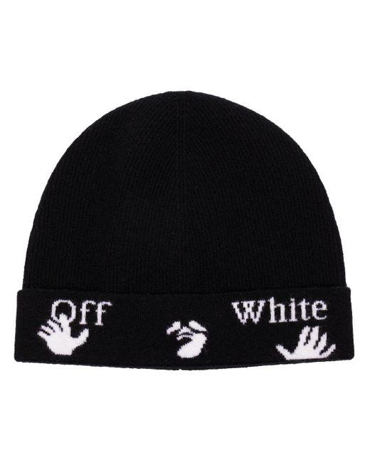 Off-White c/o Virgil Abloh ロゴ ビーニー Black