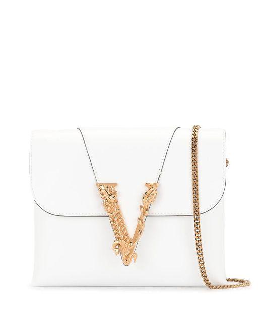 Versace Virtus クラッチバッグ White