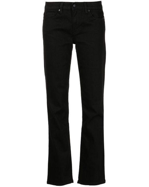 Calvin Klein ローライズ スリムパンツ Black