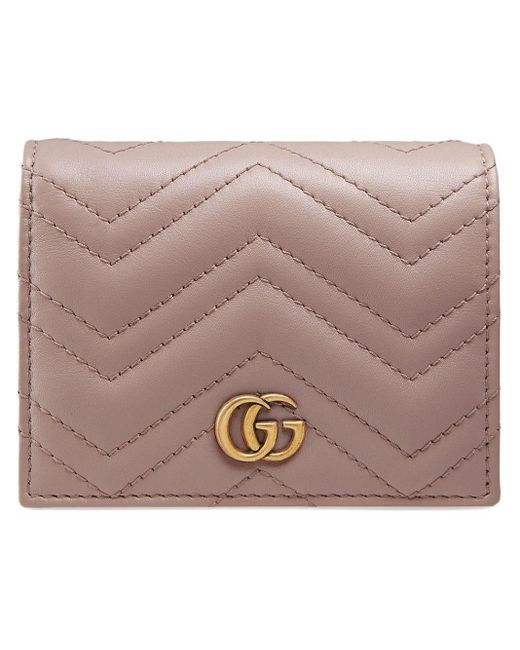 Картхолдер GG Marmont Gucci, цвет: Pink