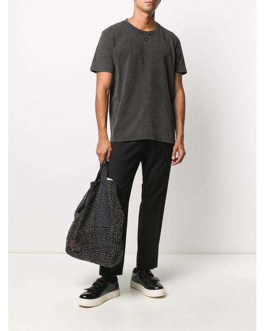 メンズ Craig Green ロゴ Tシャツ Black