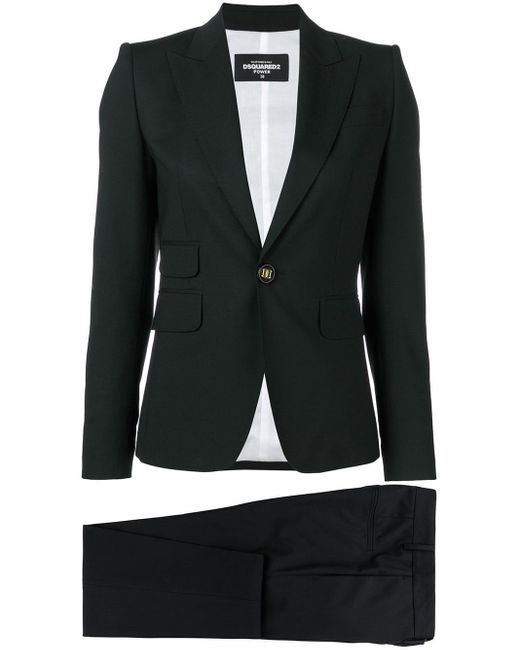 DSquared² Black Zweiteiliger Anzug
