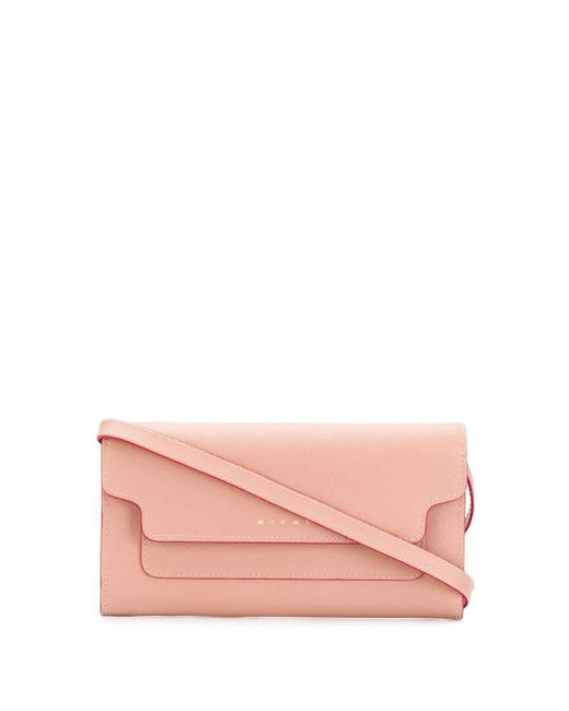 Marni Bellows ウォレットバッグ Pink
