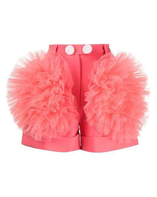 Loulou チュール ショートパンツ Pink