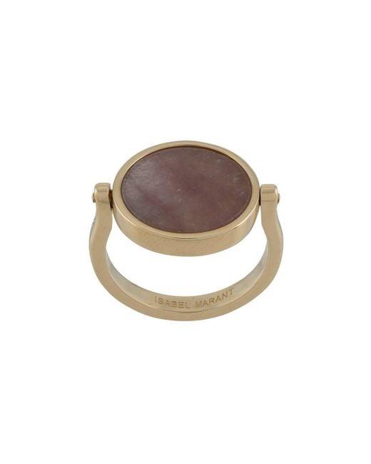 Кольцо Julius Isabel Marant, цвет: Brown