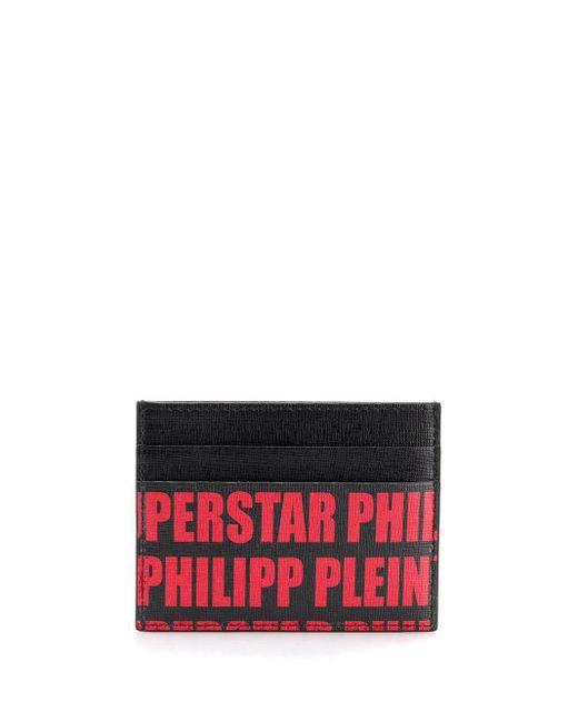 メンズ Philipp Plein カードケース Black