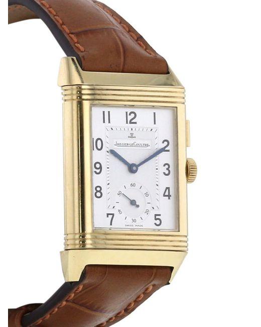 Наручные Часы Reverso-duoface 36 Мм 2000-х Годов Jaeger-lecoultre для него, цвет: White