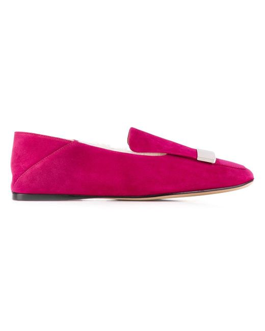 Лоферы 'sr1' Sergio Rossi, цвет: Pink