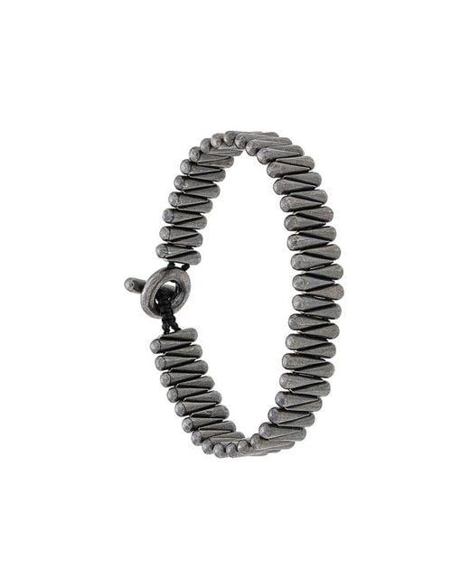 M. Cohen - Metallic toggle Bracelet - Lyst