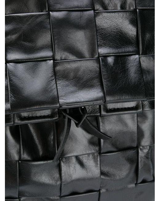 Рюкзак С Плетением Intrecciato Bottega Veneta для него, цвет: Black