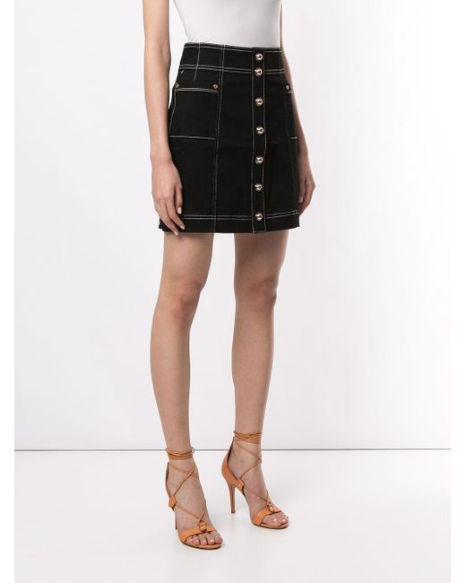 Alice McCALL Rock With You ステッチ スカート Blue