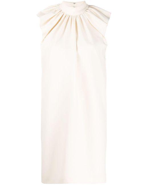 Victoria, Victoria Beckham シャーリング ドレス White