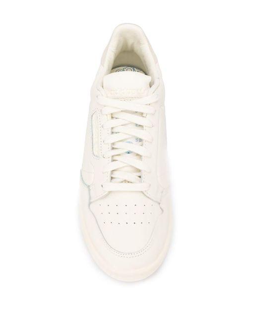 Кеды Continental 80 Adidas, цвет: White