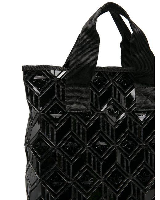 Adidas ジオメトリックパターン バックパック Black