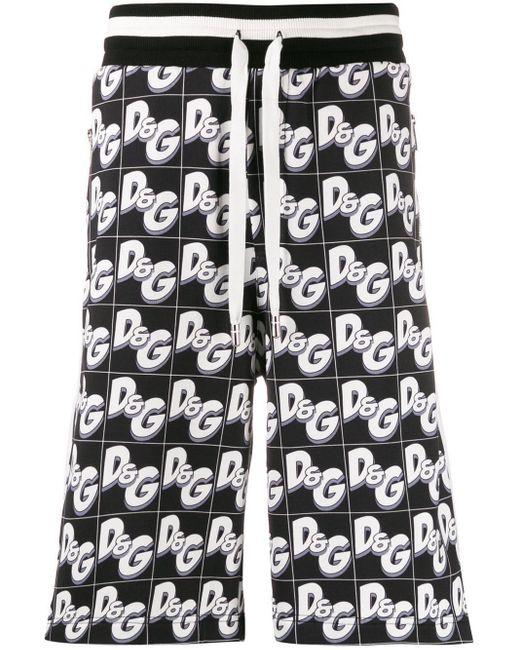 メンズ Dolce & Gabbana Dg ショートパンツ Black