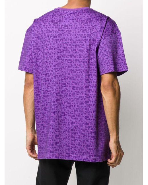 Martine Rose フォトプリント Tシャツ Purple