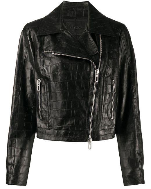 DROMe ライダースジャケット Black