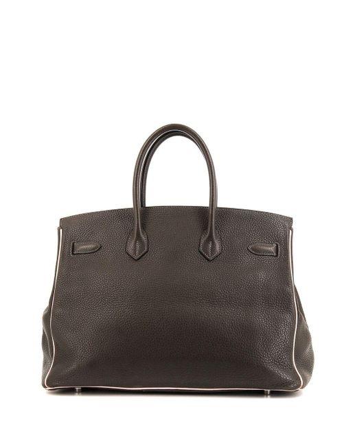 Hermès プレオウンド バーキン 35 ハンドバッグ Gray