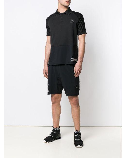 Short à logo imprimé Philipp Plein pour homme en coloris Black