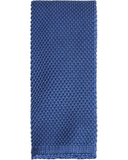 メンズ Dolce & Gabbana シルク ネクタイ Blue