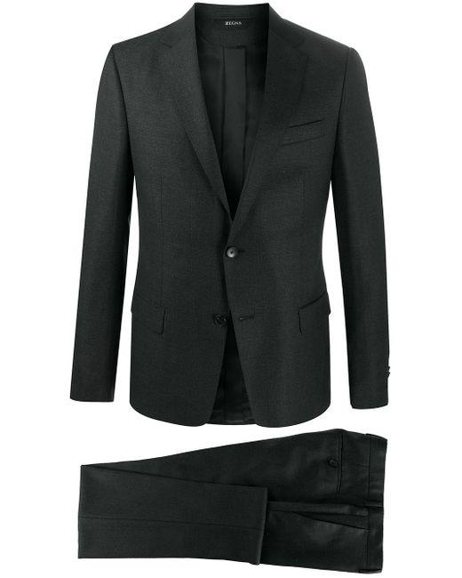 メンズ Z Zegna ツーピース スーツ Gray