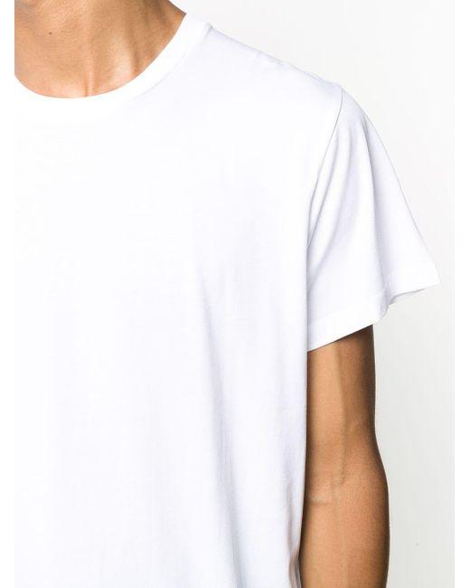 メンズ Jil Sander ラウンドネック Tシャツ White