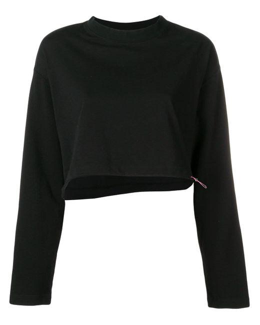 Unravel Project ドローストリング スウェットシャツ Black