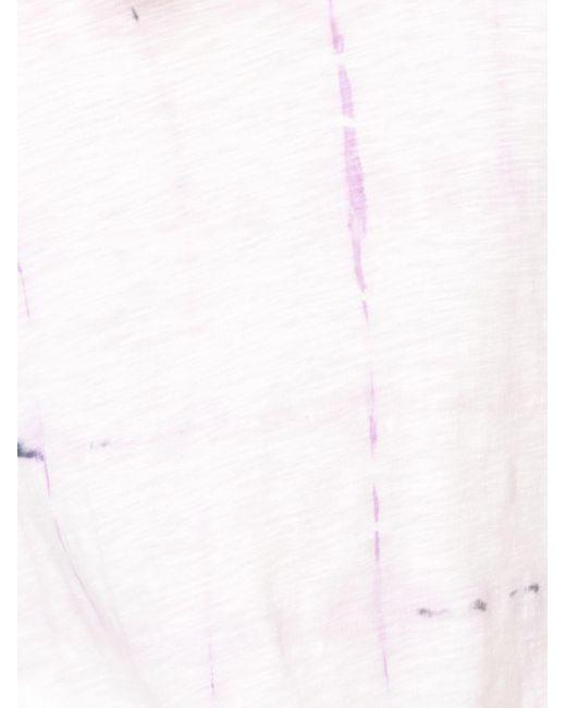 Футболка С Принтом Тай-дай Proenza Schouler, цвет: Pink
