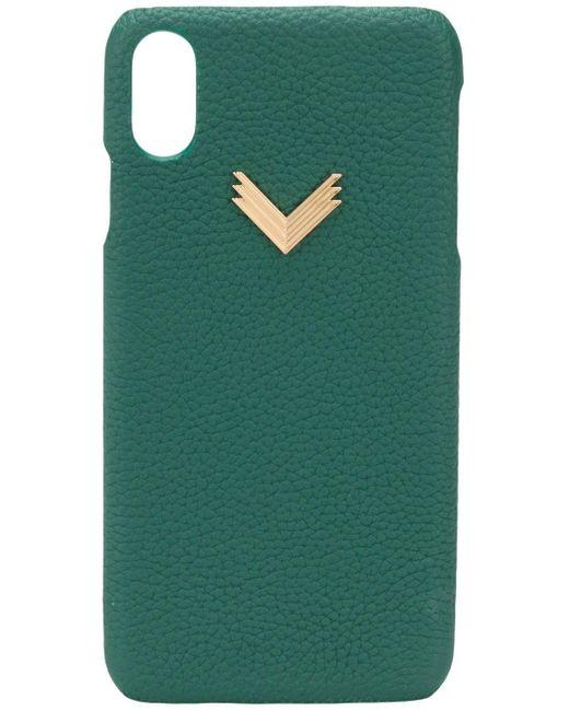 Manokhi X Velante Iphone Xs Max ケース Green