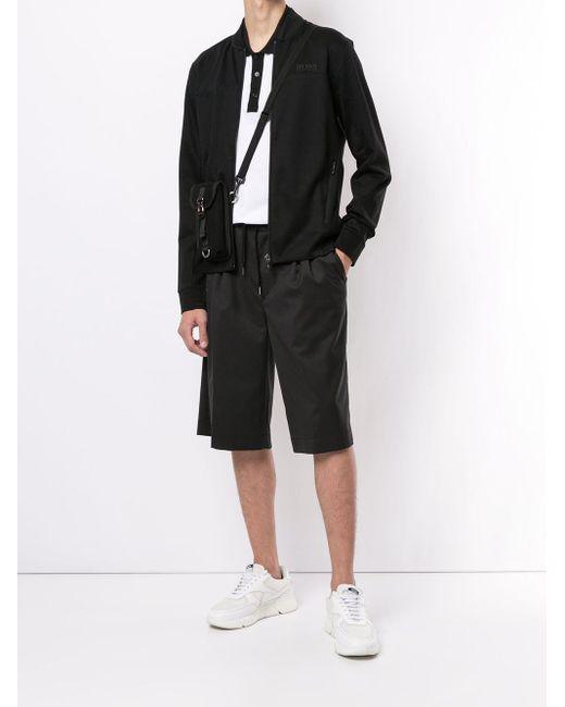 メンズ BOSS by Hugo Boss ロゴ スウェットシャツ Black
