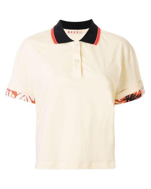 Marni トロピカル ポロシャツ Multicolor