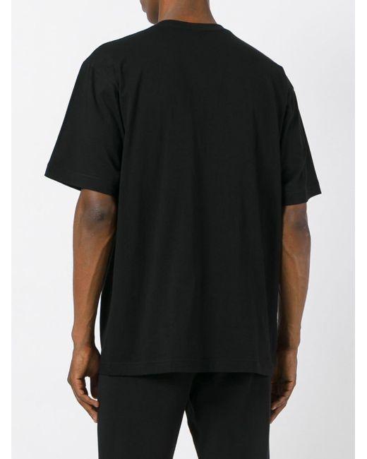 メンズ KTZ Society プリントtシャツ Black