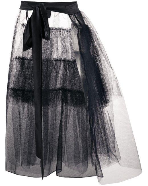 Юбка Со Вставкой Из Тюля Simone Rocha, цвет: Multicolor