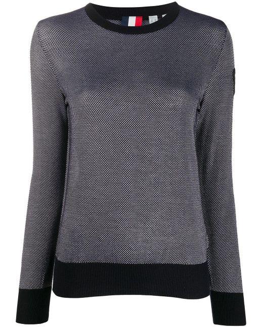 Rossignol バイカラー セーター Blue