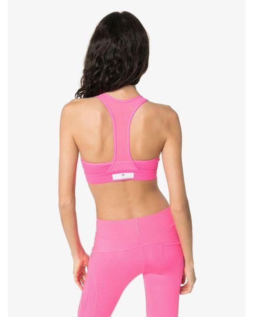 Adidas By Stella McCartney スポーツブラ Pink