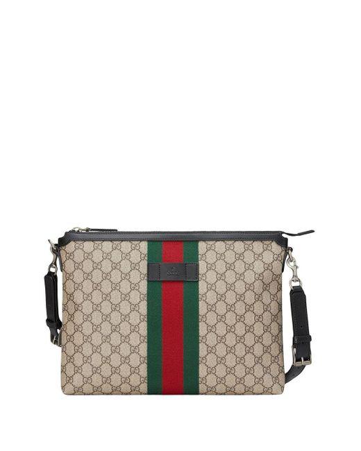 メンズ Gucci GGスプリーム メッセンジャーバッグ M Multicolor