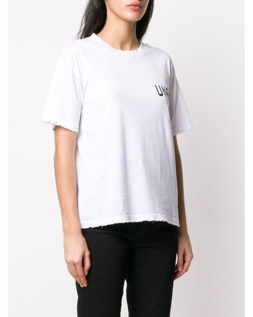 Unravel Project ロゴ Tシャツ White